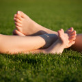 Feet in Grass