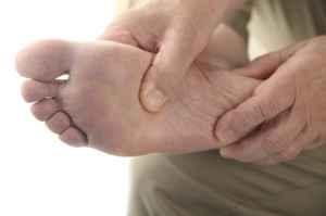 elderly foot pain