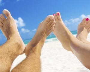 beach foot care