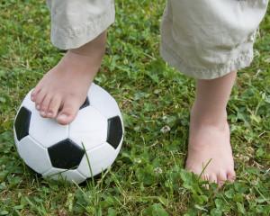 children's soccer and ingrown toenails