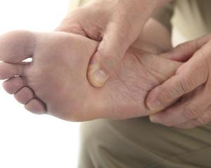 elderly foot pain