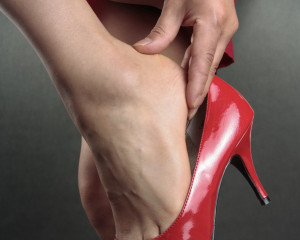 high heel foot problems