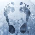 bare footprints