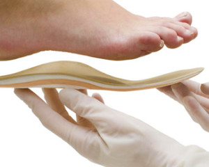 custom orthotics fitting
