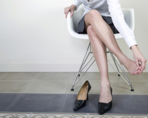 foot pain from wearing high heels
