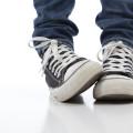bunion on child's foot