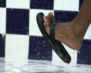 athlete's foot in shower
