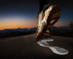 foot pain and running