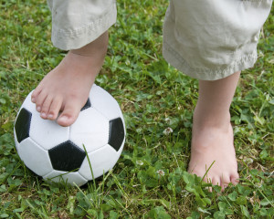 children's soccer and ingrown toenails