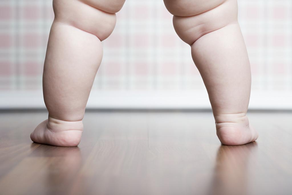 Babys legs
