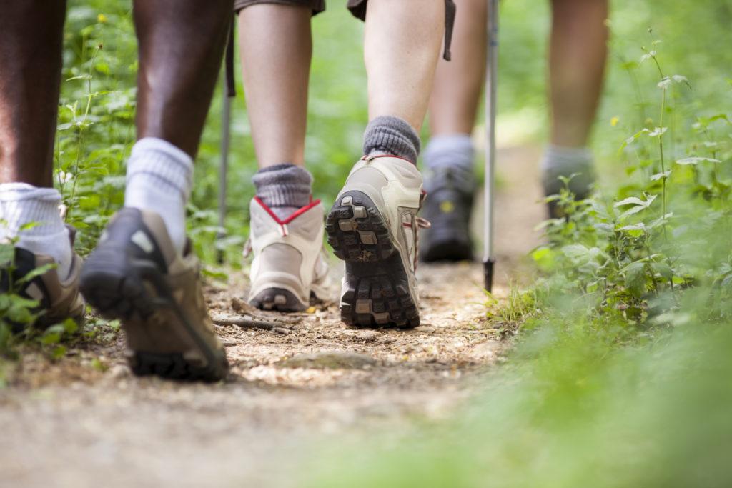 hiking foot injuries
