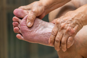 common foot problems over 60
